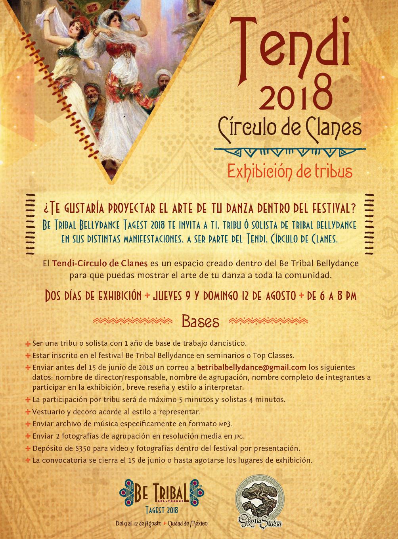 2018 BTBD Convocatoria Tendi