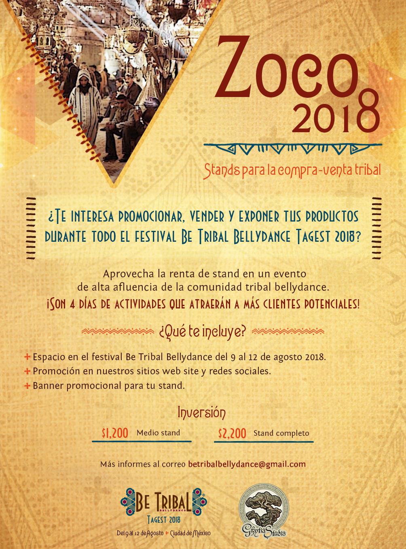 2018 BTBD Convocatoria Zoco
