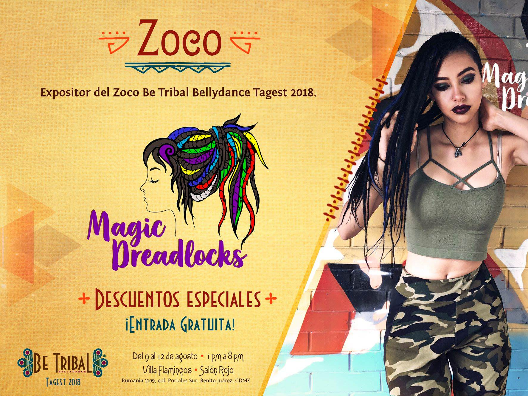 2018 Zoco Magic Dreadlocks
