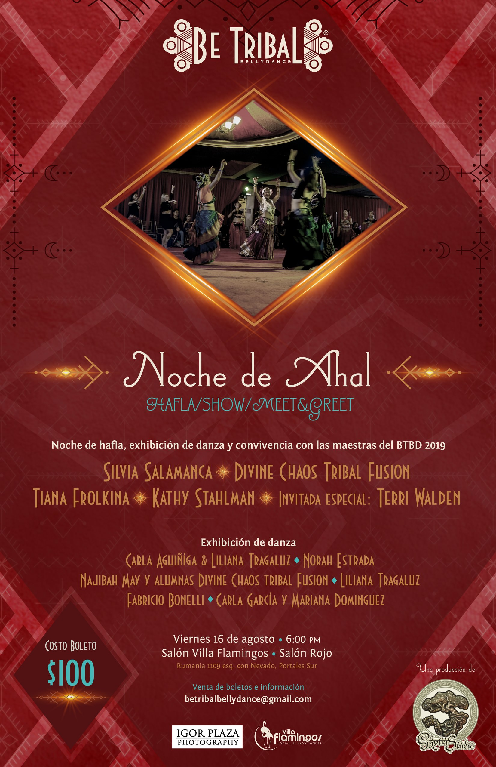 2019 Show Noche Ahal Be Tribal Bellydance