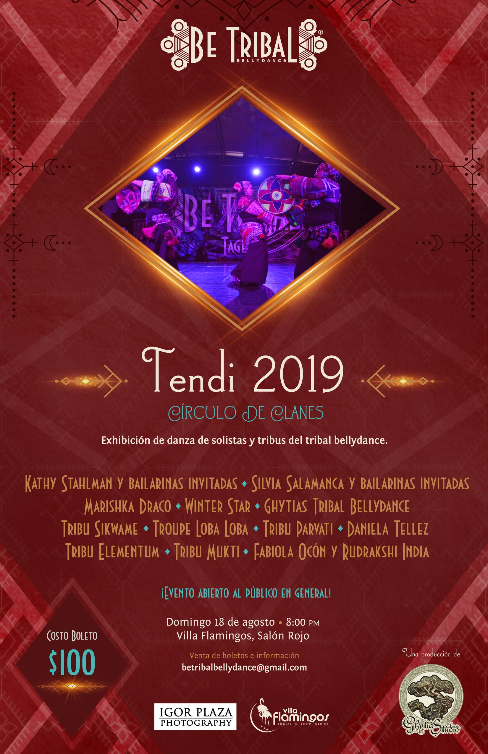 2019 Show Tendi Be Tribal Bellydance