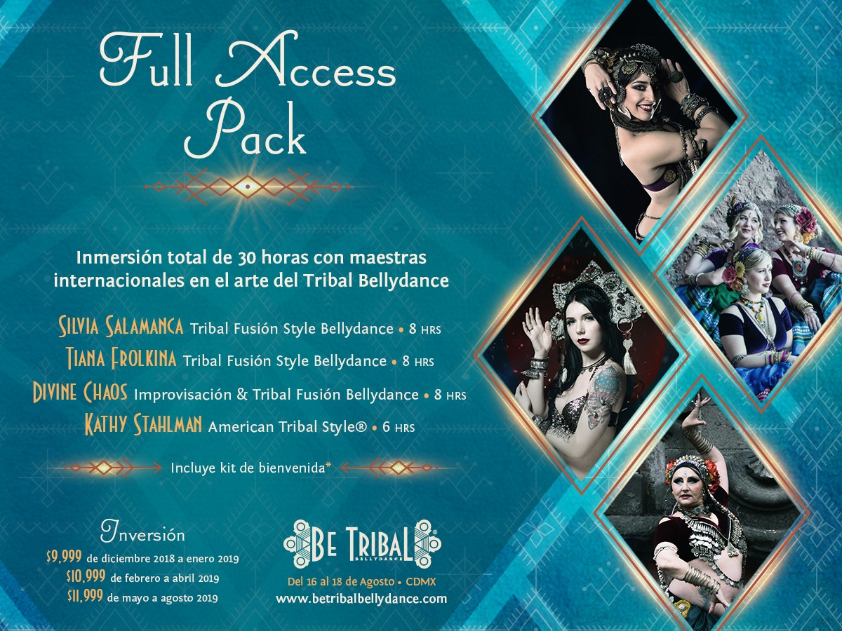Be Tribal Bellydance 2019 Pack Full Access Pack