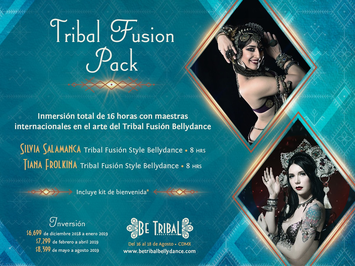 Be Tribal Bellydance 2019 Pack Tribal Fusion Pack