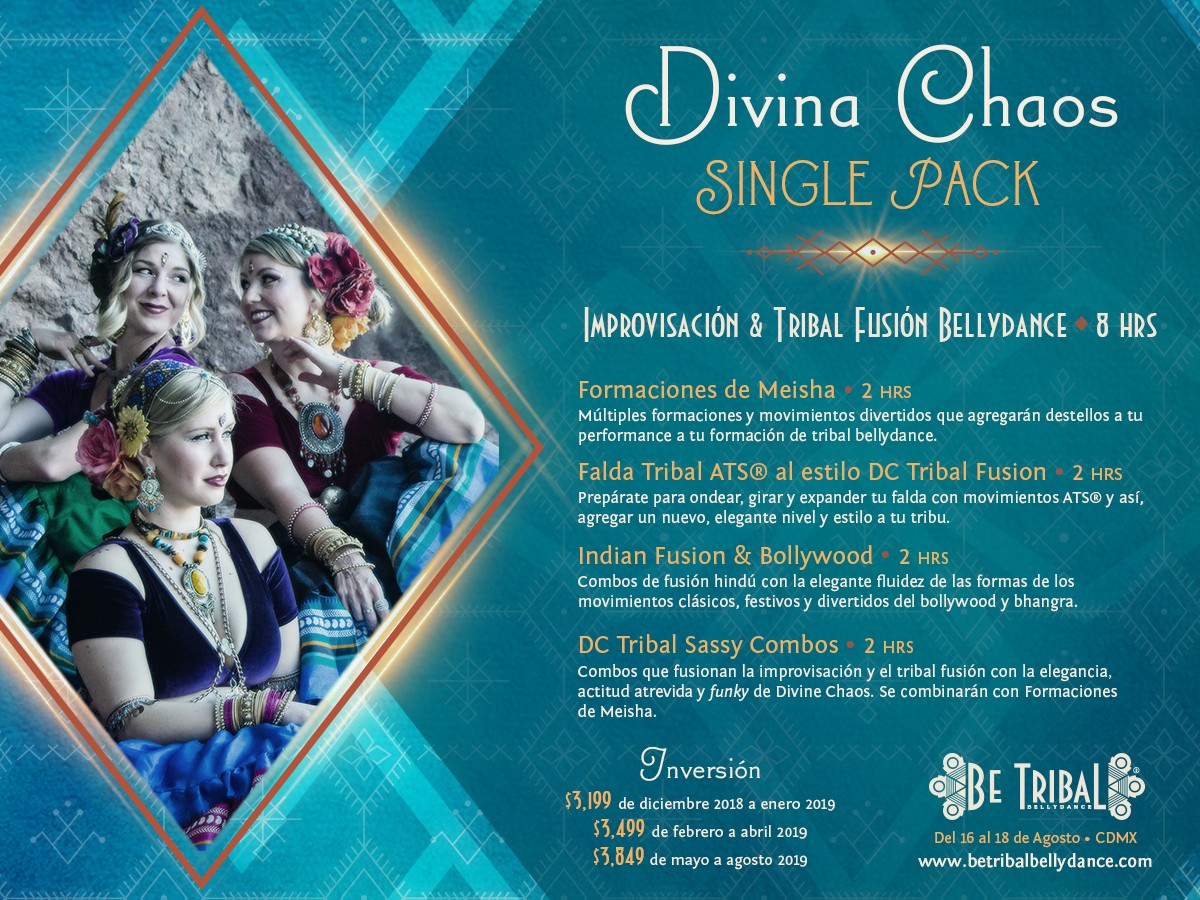 Be Tribal Bellydance 2019 Single Pack Divine Chaos
