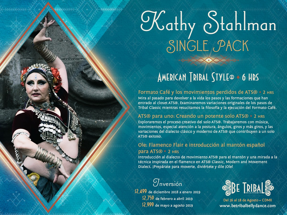 Be Tribal Bellydance 2019 Single Pack Kathy Stahlman