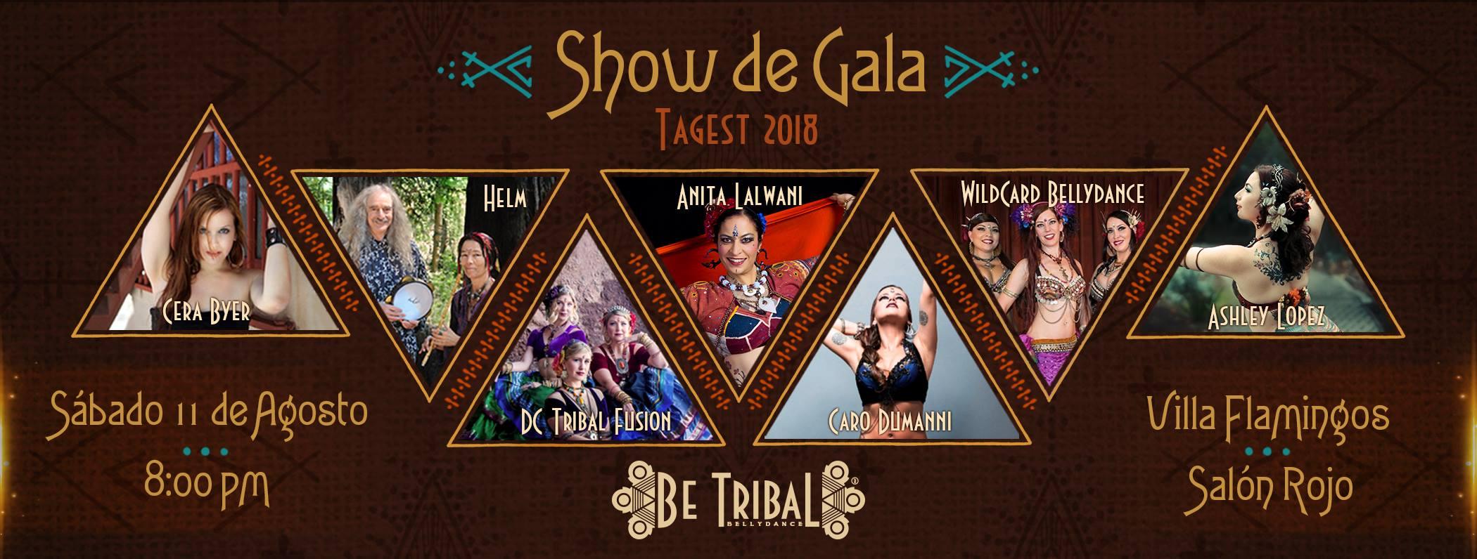 Be Tribal Bellydance Show de Gala 2018 Portada