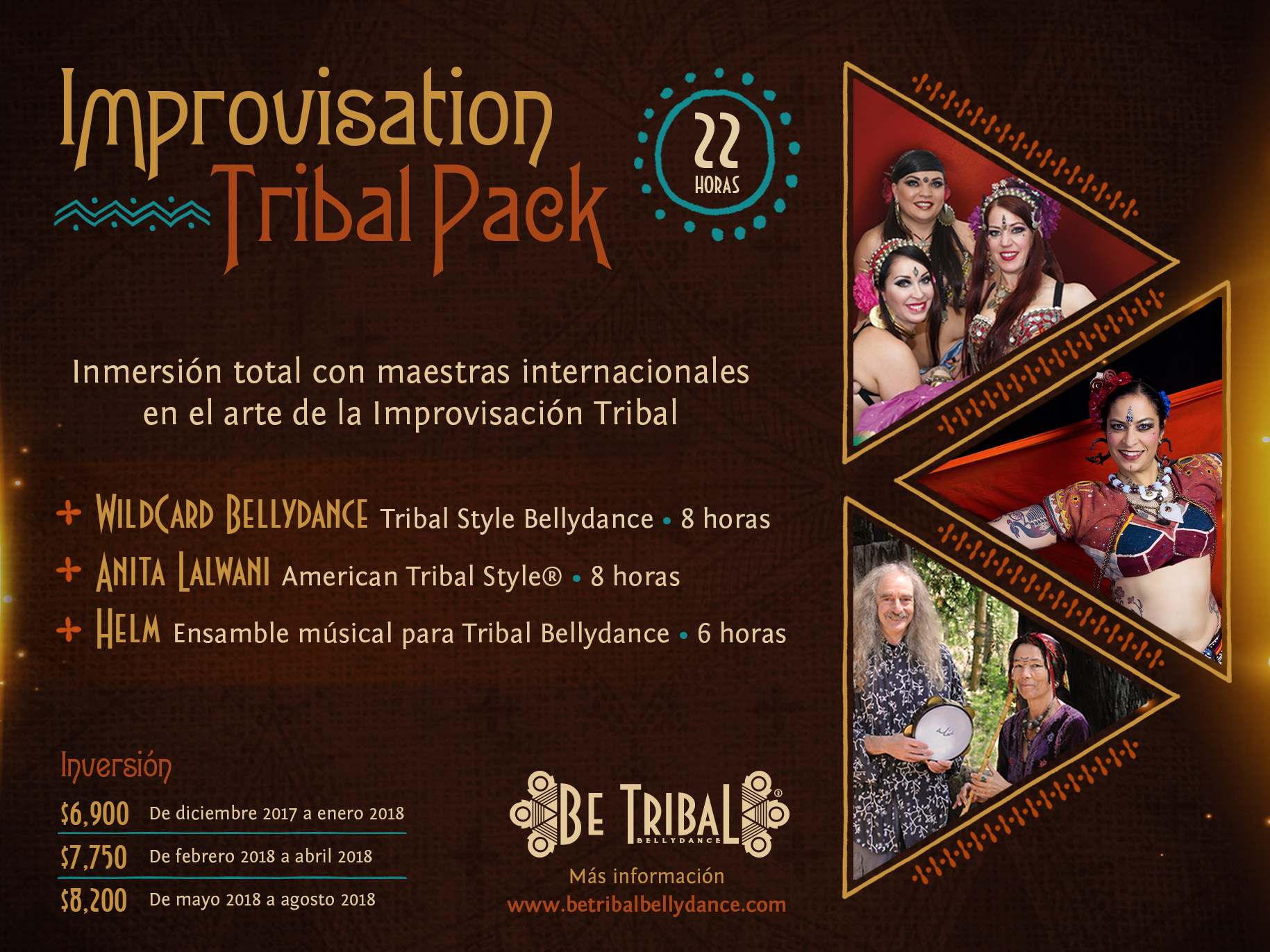 Paquete B Improvisation Tribal Pack