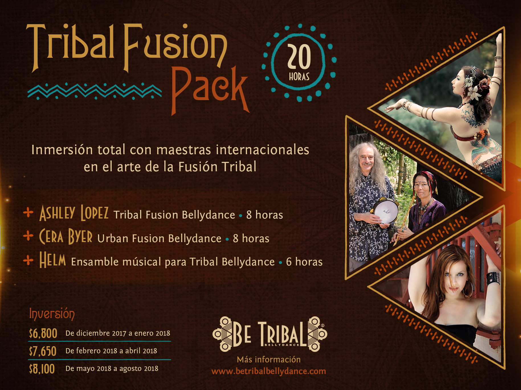 Paquete B Tribal Fusion Pack