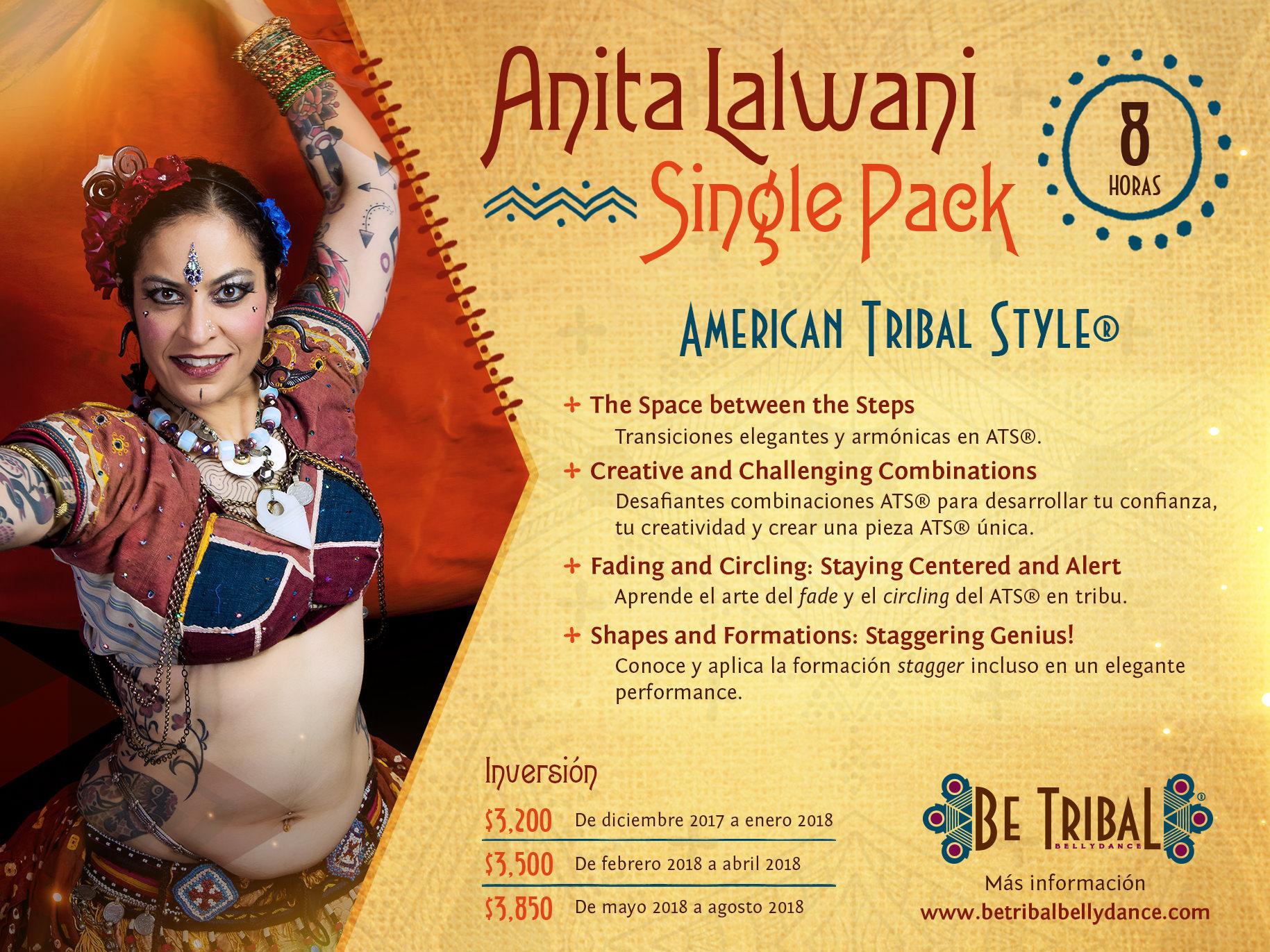 Paquete C Anita Lalwani Single Pack