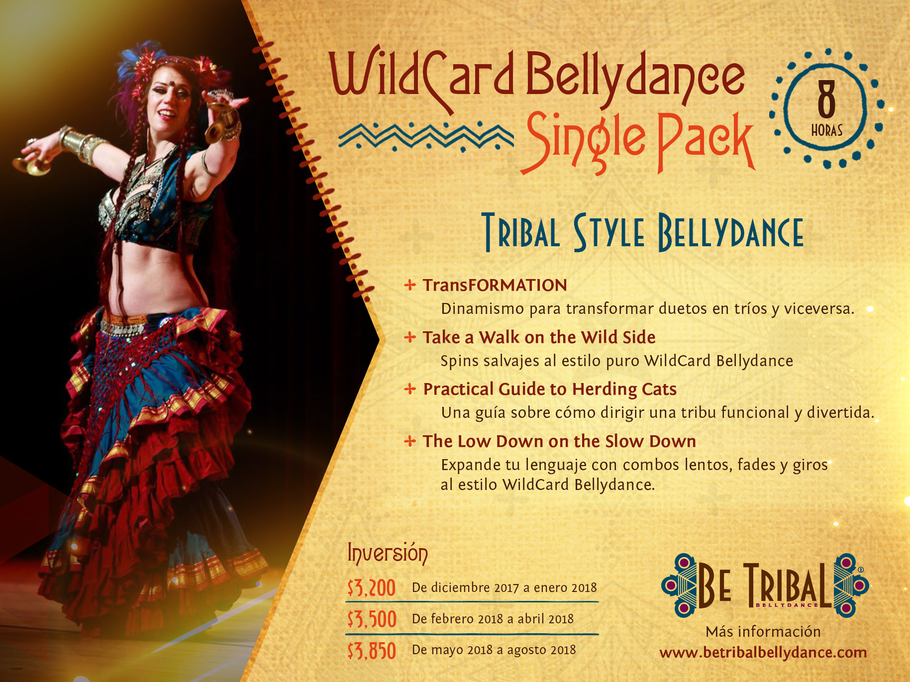 Paquete C WildCard Bellydance Single Pack