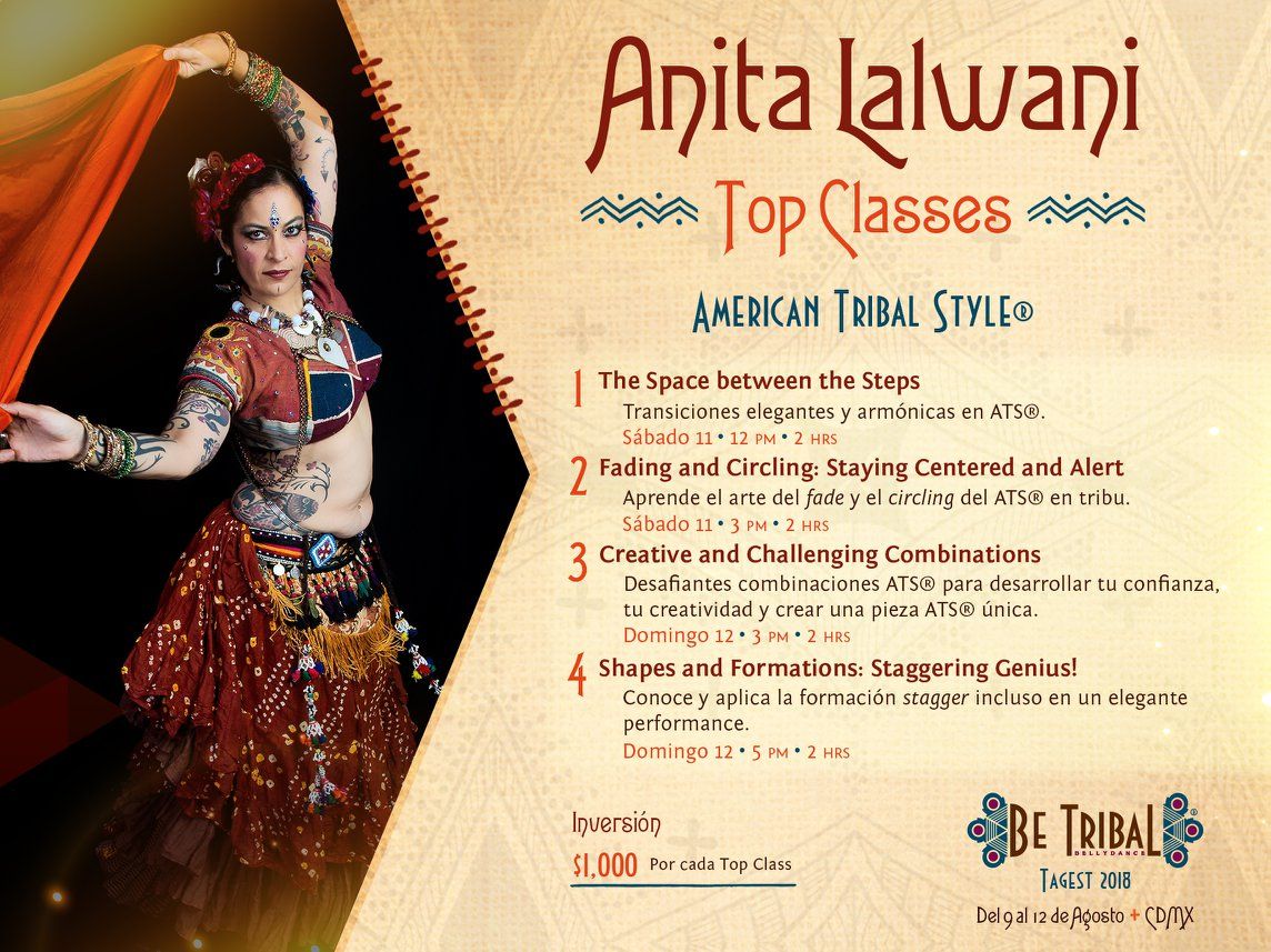 Top Classes Anita Lalwani
