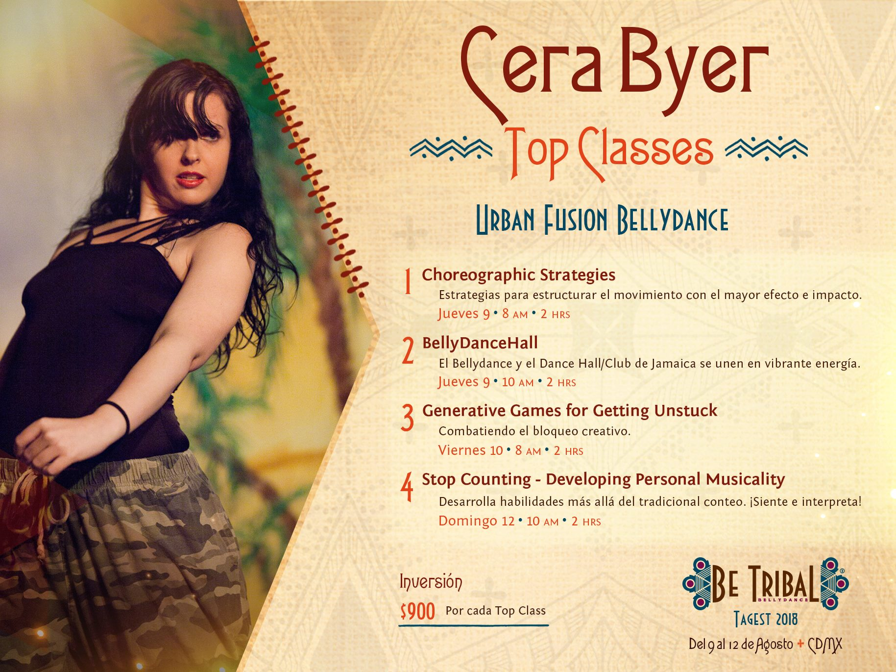 Top Classes Cera Byer