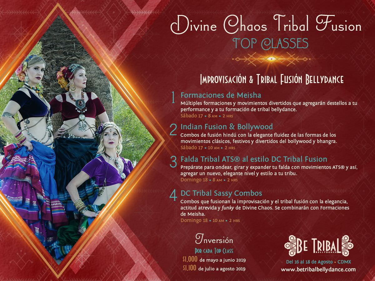 Top Classes Divine Chaos Tribal Fusion 2019