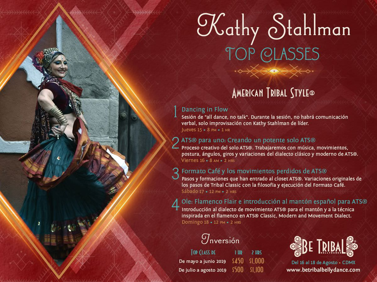 Top Classes Kathy Stahlman 2019