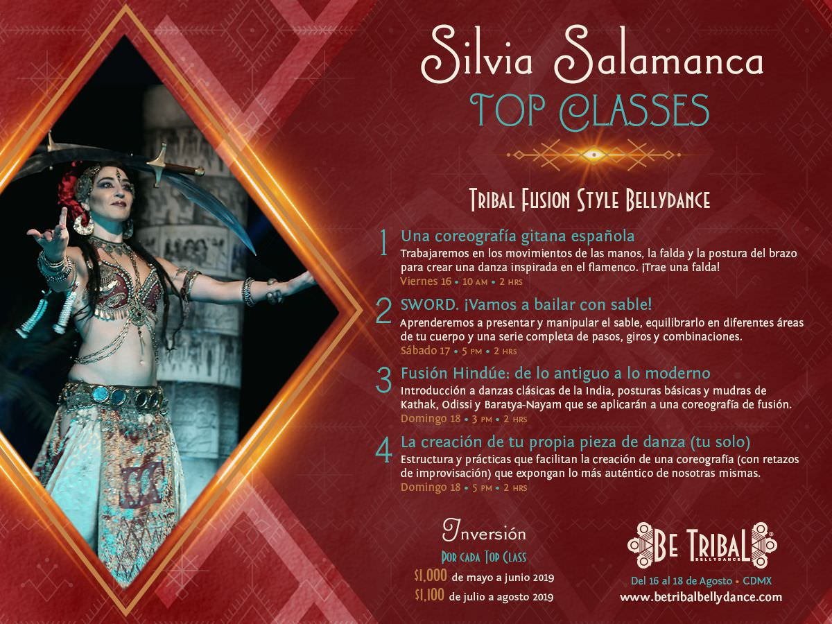 Top Classes Silvia Salamanca 2019