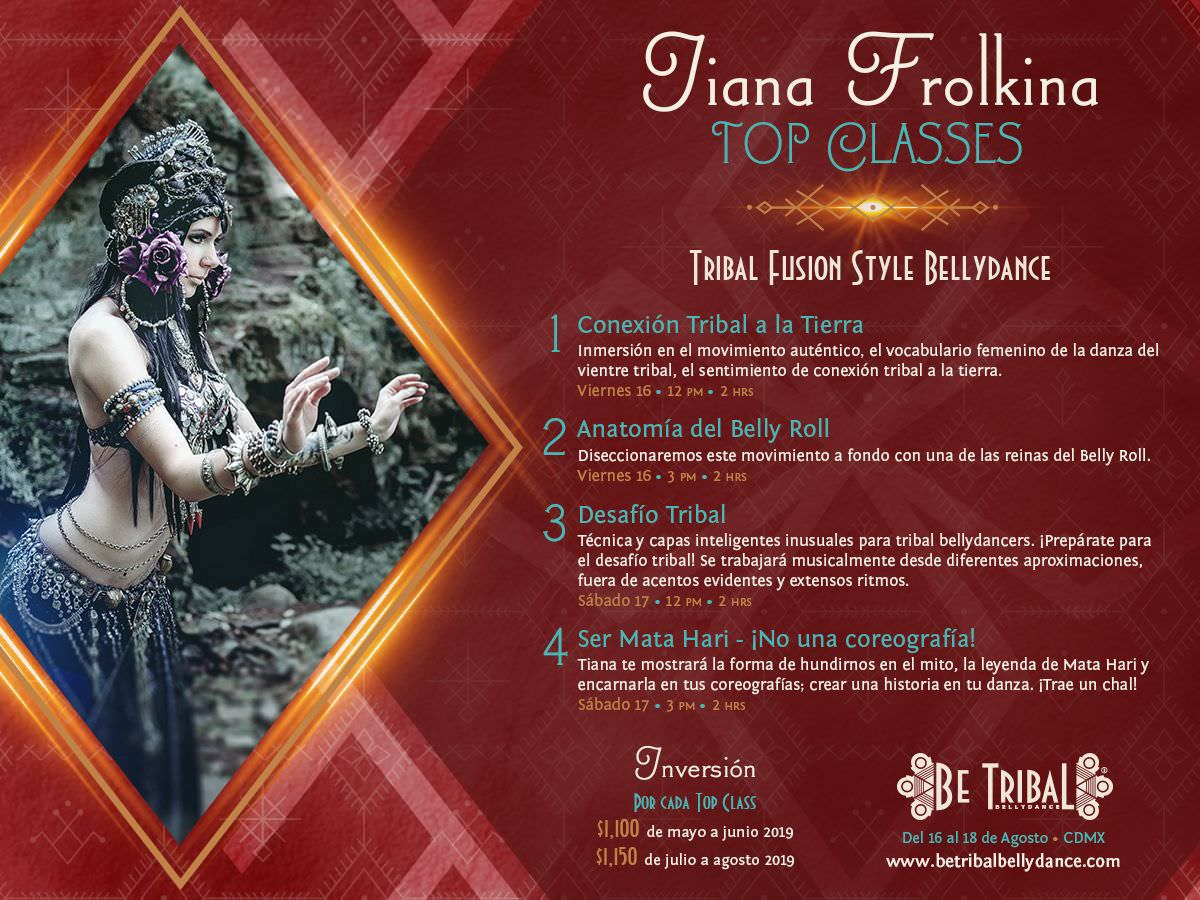 Top Classes Tiana Frolkina 2019