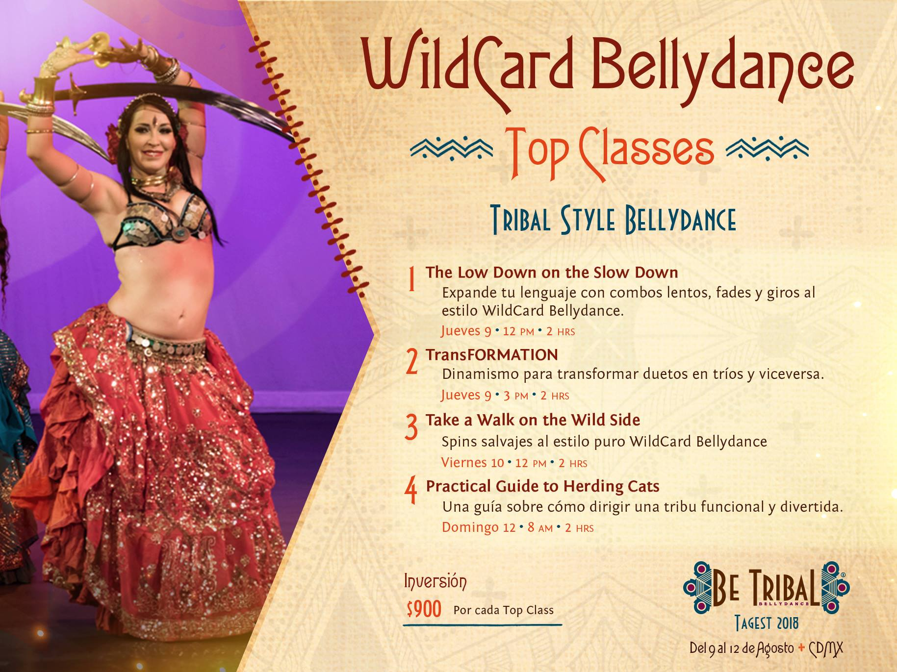 Top Classes Wildcard Bellydance