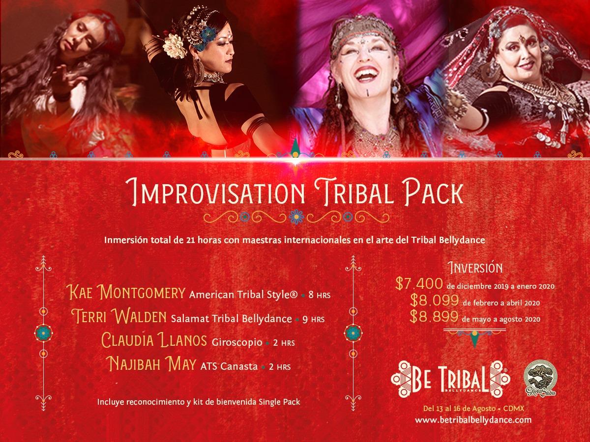 BTBD 2020 - Pack Improvisation Tribal