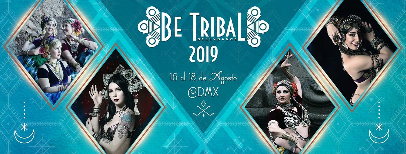 Portada Be Tribal Bellydance 2019