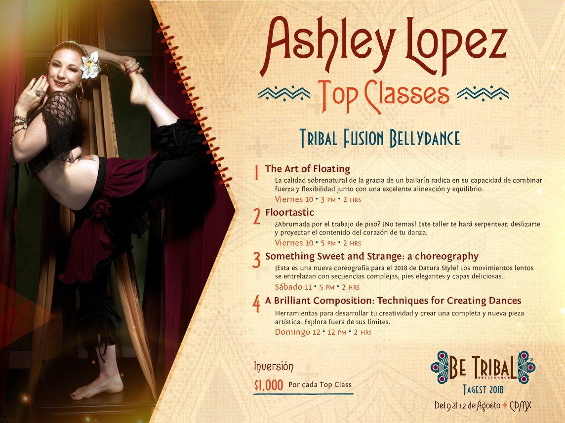 Top Classes Ashley Lopez